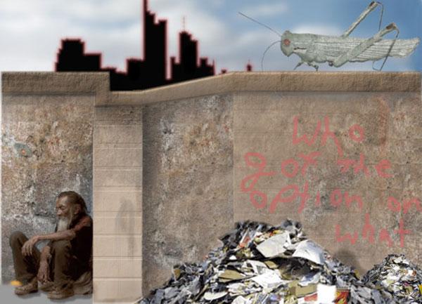 Heuschrecken und Armut