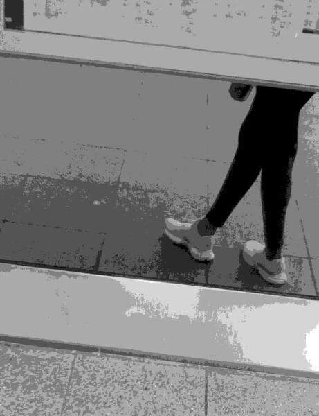 girl on Platform